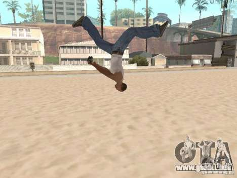 Parkour 40 mod para GTA San Andreas quinta pantalla