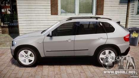 BMW X5 xDrive 4.8i 2009 v1.1 para GTA 4 left