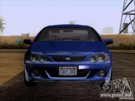Ford Falcon para la visión correcta GTA San Andreas