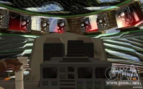 Real UFO para visión interna GTA San Andreas