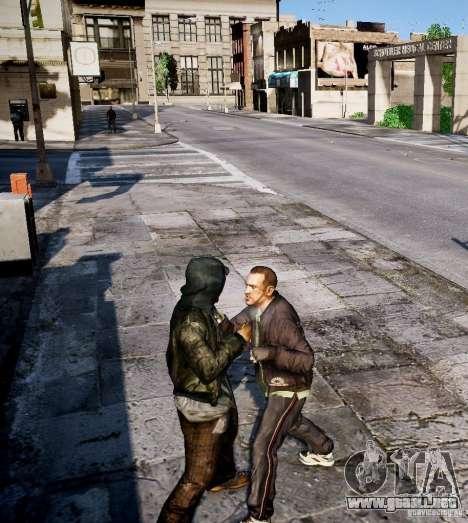 Bad Niko para GTA 4 quinta pantalla