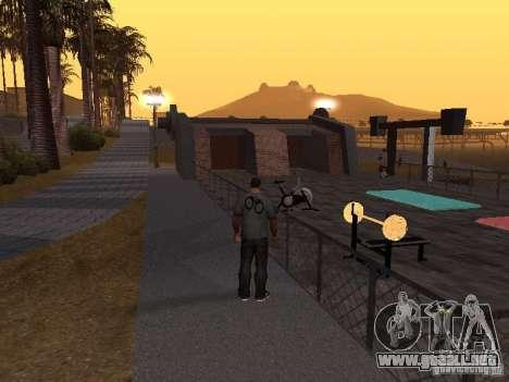 HD Santa Maria Beach para GTA San Andreas sucesivamente de pantalla
