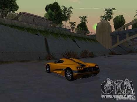 Koenigsegg CCX para la visión correcta GTA San Andreas