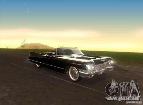 Cadillac Series 62 1960 para visión interna GTA San Andreas