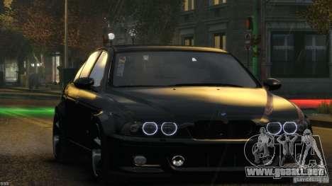 BMW M5 E39 AC Schnitzer Type II v1.0 para GTA 4 interior