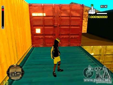 Piel vago v3 para GTA San Andreas quinta pantalla