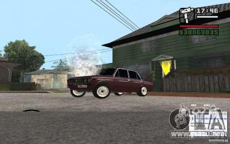 CAMZum beta disponible de GTA 5 para GTA San Andreas sucesivamente de pantalla