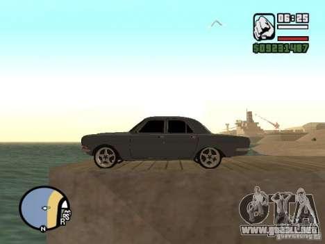 GAZ 2410 Tuning para la visión correcta GTA San Andreas