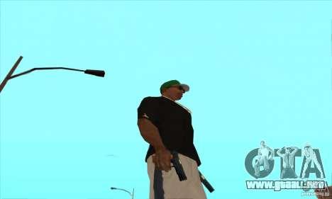 WEAPON BY SWORD para GTA San Andreas