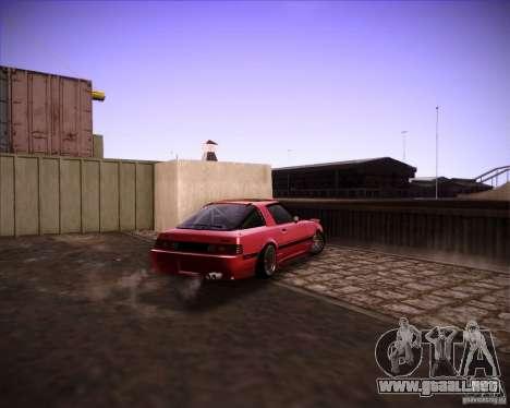 Mazda RX7 FBS3 para la visión correcta GTA San Andreas