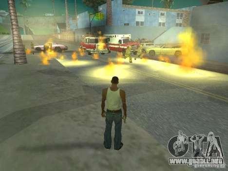 IVLM 2.0 TEST №3 para GTA San Andreas octavo de pantalla