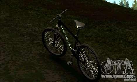 Bicicleta con Monster Energy para GTA San Andreas left