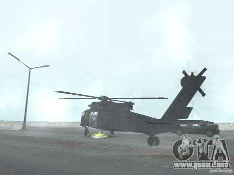 El helicóptero de CoD 4 MW para GTA San Andreas left