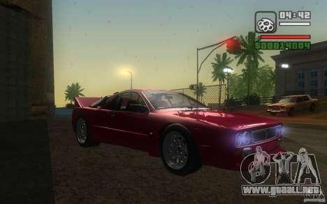 Lancia 037 Stradale para la visión correcta GTA San Andreas