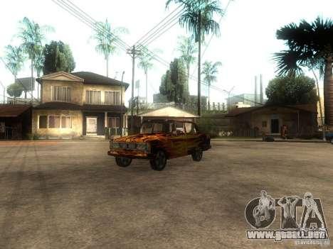 2106 VAZ del juego S.T.A.L.K.E.R. para GTA San Andreas
