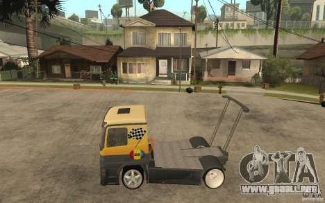 Mercedes Benz Actros Dragster para GTA San Andreas left