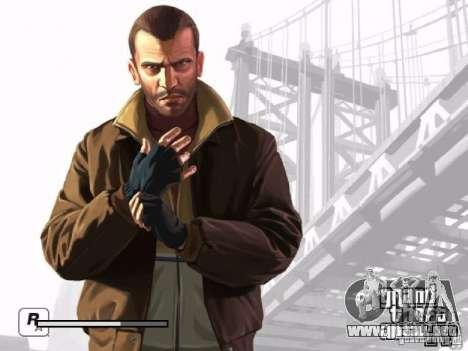 Pantalla de arranque de GTA 4 para GTA San Andreas séptima pantalla