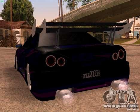Elegy 0.2 para la vista superior GTA San Andreas