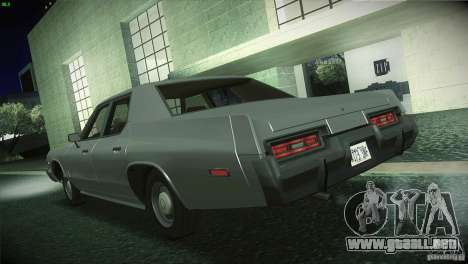 Dodge Monaco para GTA San Andreas left