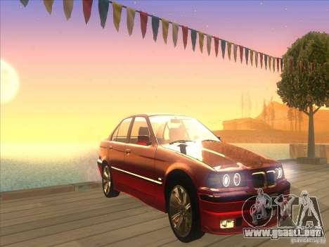 BMW E36 para visión interna GTA San Andreas