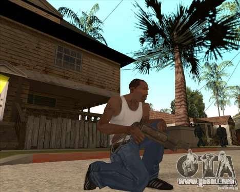 CoD:MW2 weapon pack para GTA San Andreas quinta pantalla