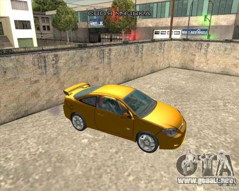 Chevrolet Cobalt SS para la visión correcta GTA San Andreas