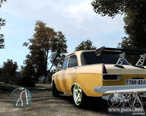 Moskvič 412 Street Racer [alfa] para GTA 4 left