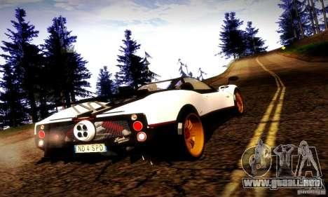 Pagani Zonda Tricolore V2 para GTA San Andreas left