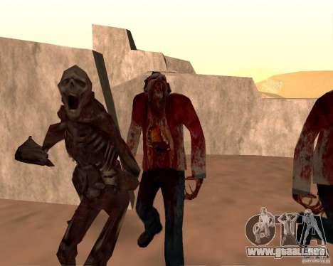 Zombie Half life 2 para GTA San Andreas décimo de pantalla