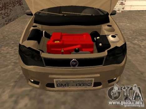 Fiat Palio 1.8R para la visión correcta GTA San Andreas