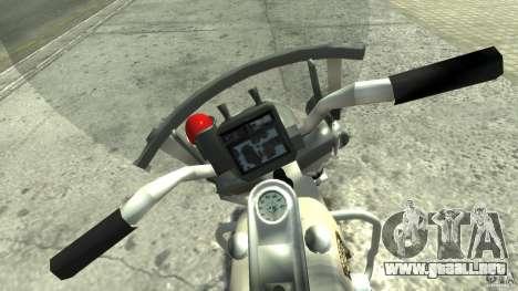 Police Bike para GTA 4 visión correcta
