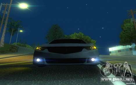 Honda Accord para la vista superior GTA San Andreas