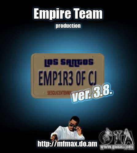 Empire of CJ v.3.8.0 para GTA San Andreas