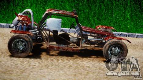 Buggy Avenger v1.2 para GTA 4 vista interior