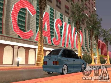 ВАЗ 2114 Casino para la visión correcta GTA San Andreas