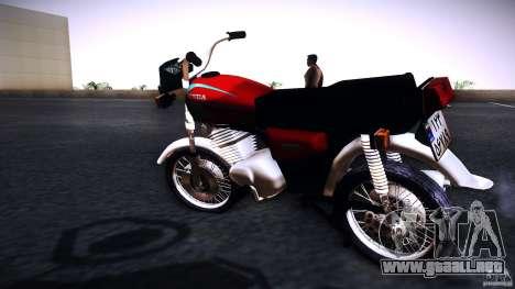 Honda CG 125 para GTA San Andreas left