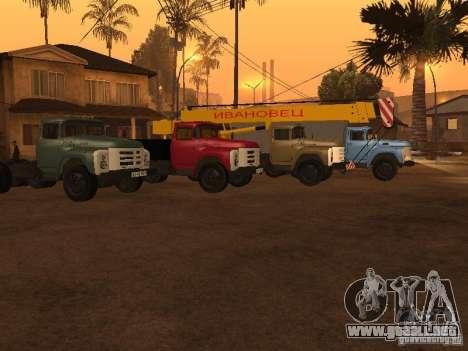 ZIL 133 para visión interna GTA San Andreas