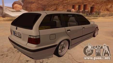 BMW M3 E36 Touring para la visión correcta GTA San Andreas
