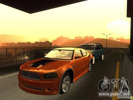 Dodge Charger From NFS CARBON para GTA San Andreas left