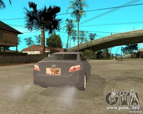 Toyota Camry XV40 2007 para GTA San Andreas