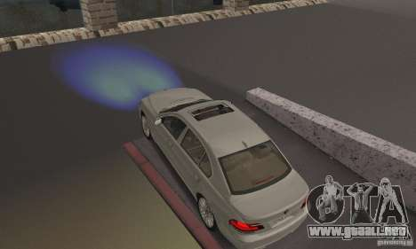 Faros azules para GTA San Andreas
