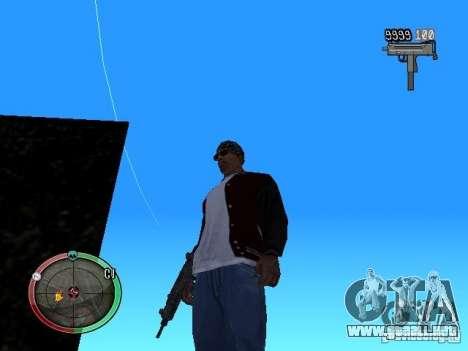 Cambiar el estilo de ajuste y Usi para GTA San Andreas tercera pantalla