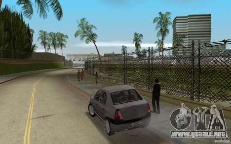 Dacia Logan 1.6 MPI para GTA Vice City vista lateral izquierdo