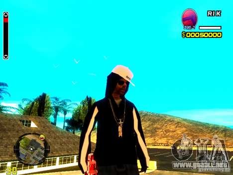 Piel vago v8 para GTA San Andreas
