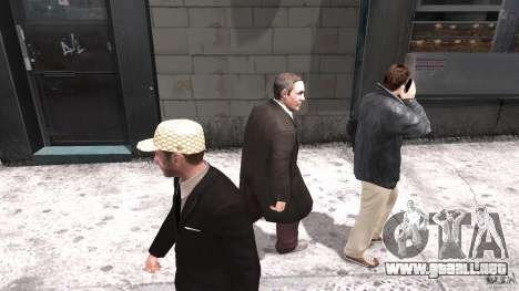 Gucci cap para GTA 4 segundos de pantalla