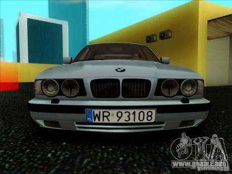 BMW 5 series E34 para visión interna GTA San Andreas