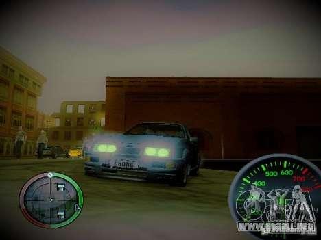 Velocímetro de Centrale v2 para GTA San Andreas segunda pantalla