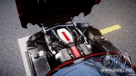 Mercedes-Benz McLaren SLR 722 v2.0 para GTA 4 vista interior