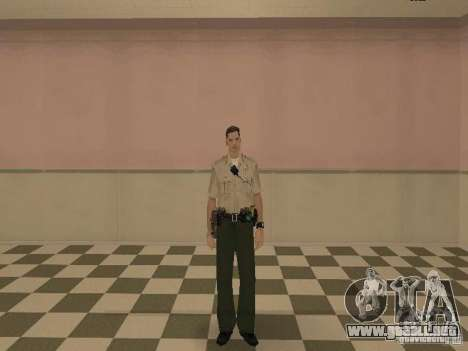 Los Angeles Police Department para GTA San Andreas sexta pantalla