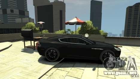 Aston Martin DBS v1.1 teñido para GTA 4 left